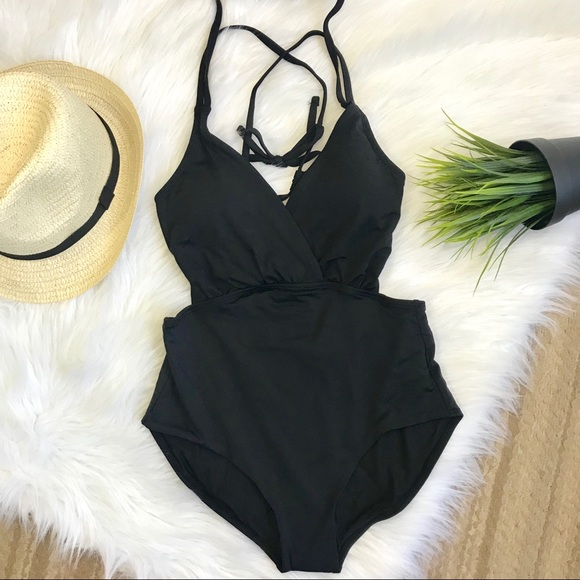 ec38b683a Black one piece swimsuit. NWT. Sunn Lab Swim